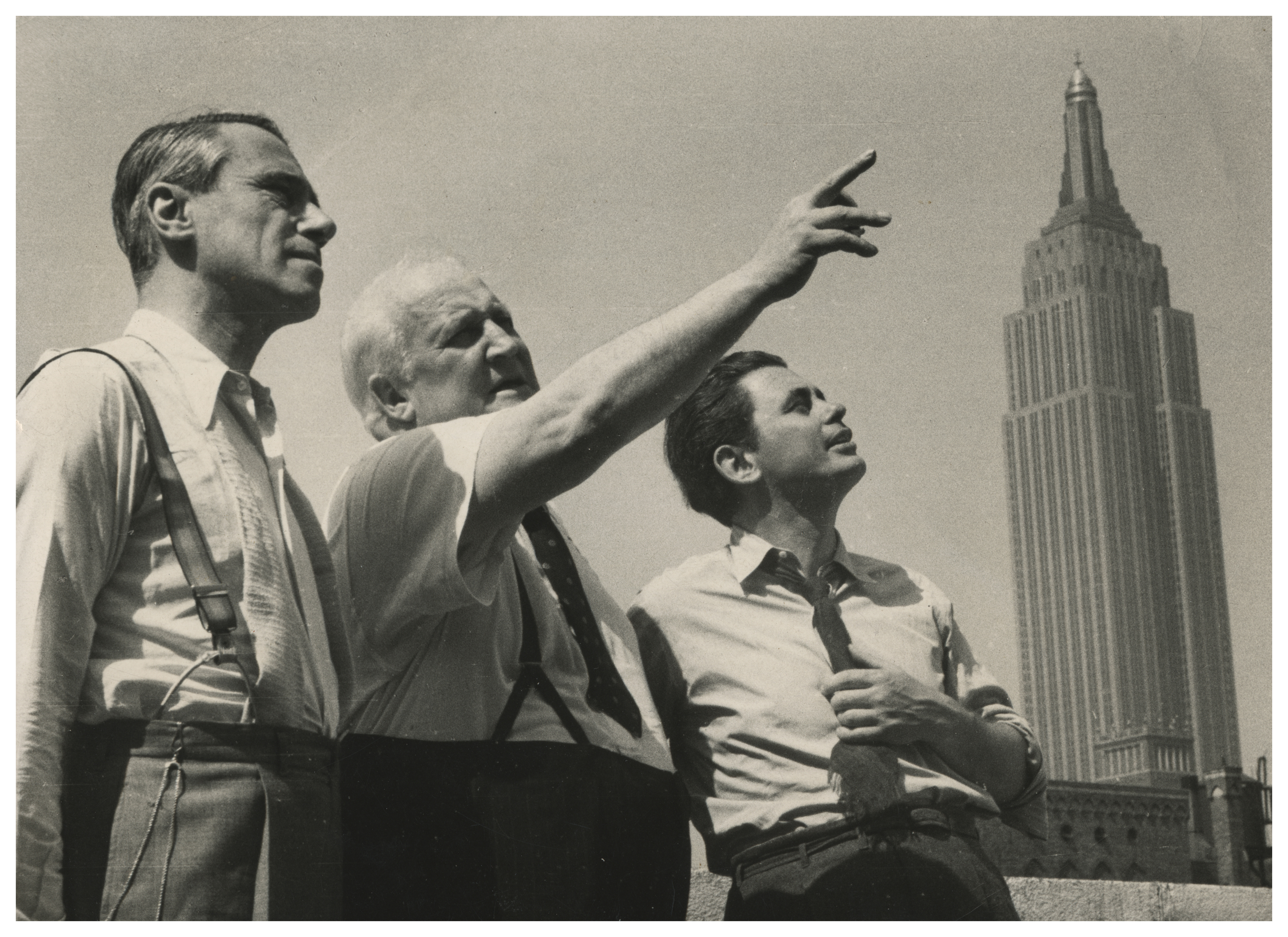 Hans Richter, Robert Flaherty, and Joris Ivens