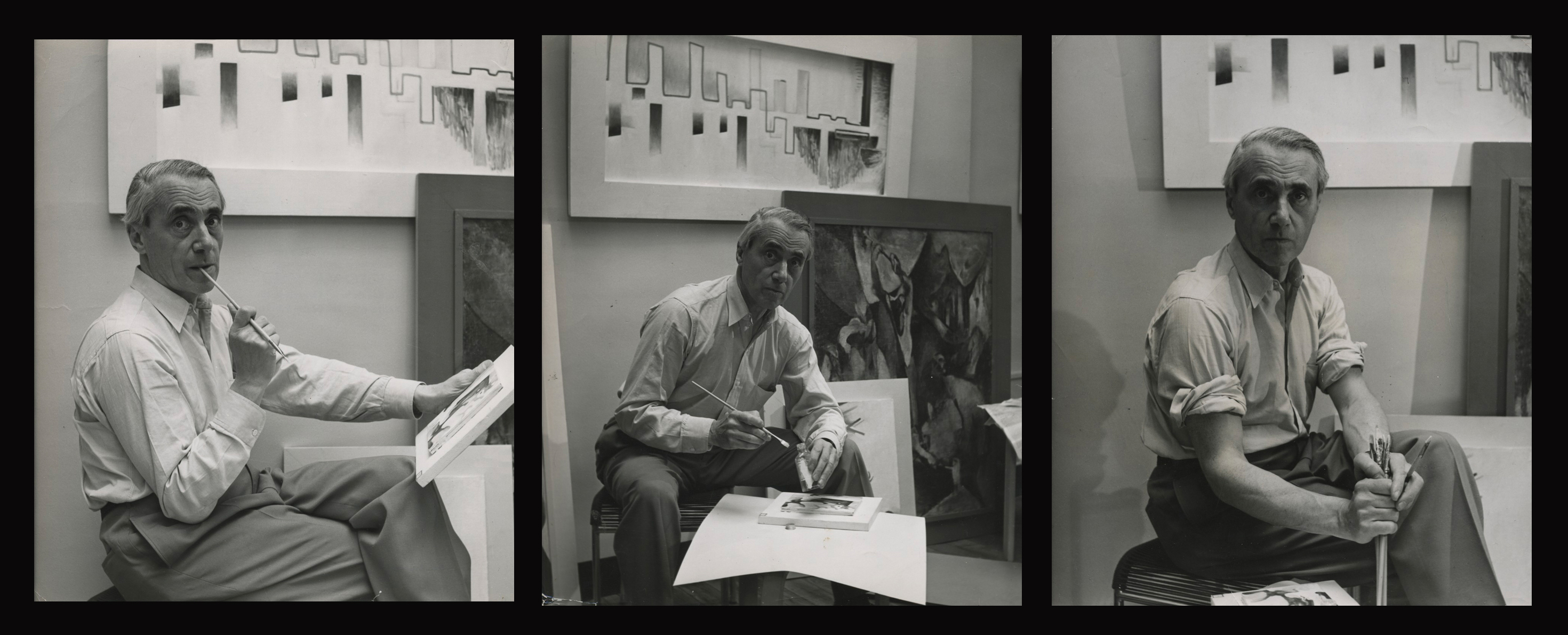 Hans Richter in Southbury, CT Studio