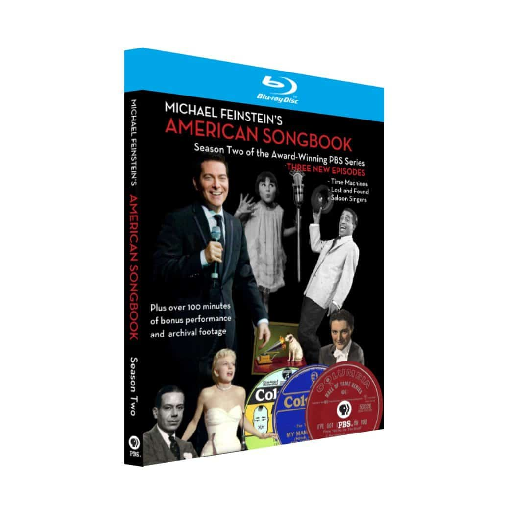 MICHAEL FEINSTEIN'S AMERICAN SONGBOOK SEASON 2 BLU-RAY
