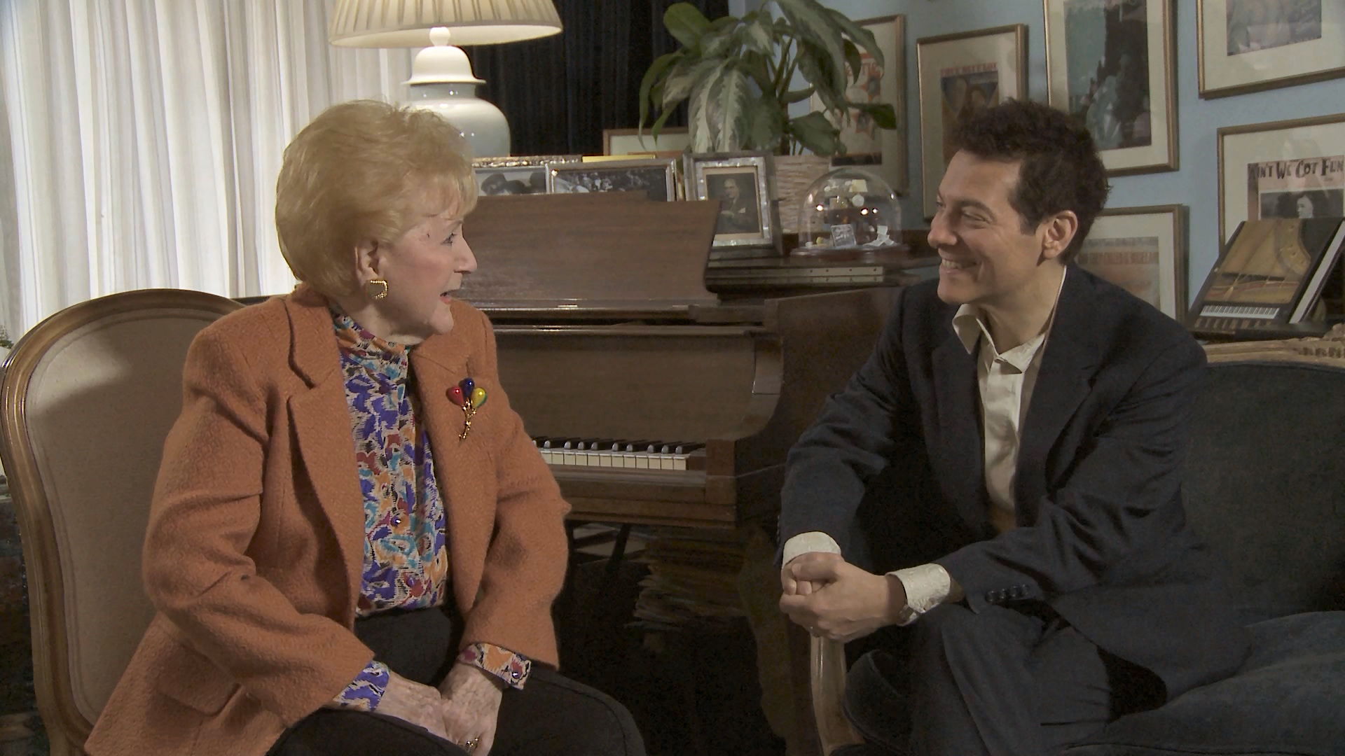 Michael visits legendary singer Margaret Whiting.